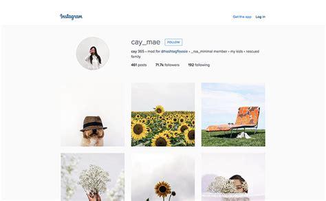 graphic design instagram bio 5 of the best minimalist instagrammers to work or playto