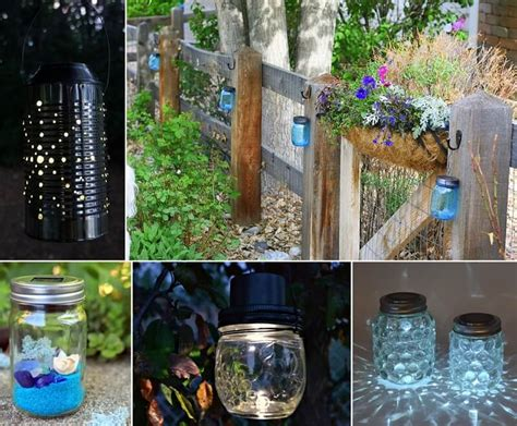 13 Fabulous One Dollar Solar Light Crafts Crafts Using Lights