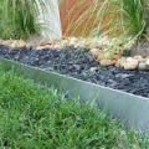 Aluminum Landscape Edging Reviews Galvanised Steel Garden Edging Alltrade Galvanised Steel