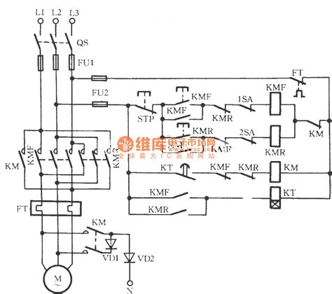 three phase motor circuit diagram three phase motor braking circuit 2 basic circuit