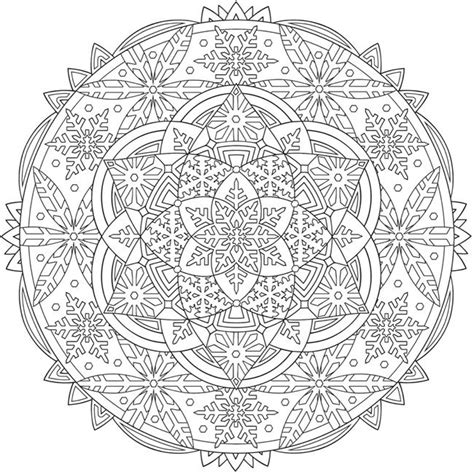 libro creative haven snowflake mandalas the 25 best snowflake coloring pages ideas on snowflakes template printable