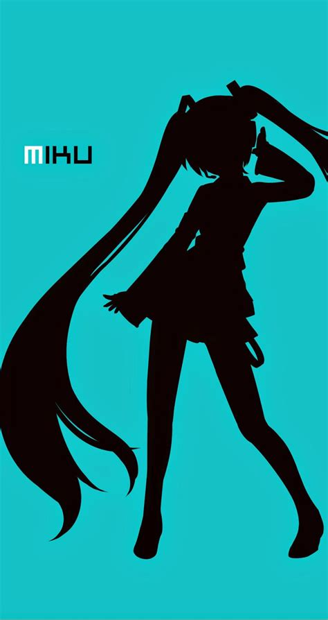 anime hd wallpaper for iphone 6 plus miku 9 anime humanoid vocaloid wallpapers for iphone 5 5s
