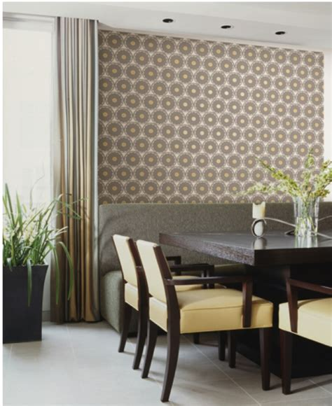 glitter wallpaper sherwin williams add dimension with this wallpaper design from the hgtv