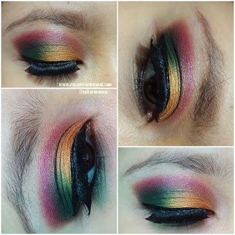 Eyeshadow Viva Hijau racun warna warni eotd colour for sannyminigiveaway