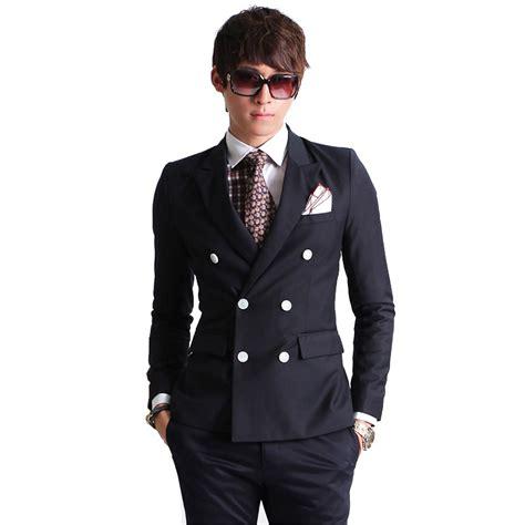 Tshirt Polos Pria Basic Slim Navy 2016 neue mode marke herren blazer herren zweireiher set