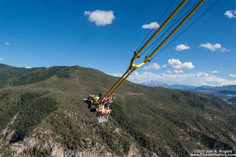 colorado canyon swing is this the scariest swing on earth earthtripper