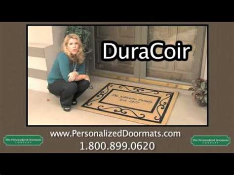 Personalized Doormats Company by Duracoir Signature Series Doormat From The Personalized