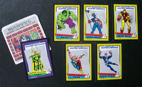 Super Gift Card - pressman s 1992 marvel super heroes collectible game all about fun and games