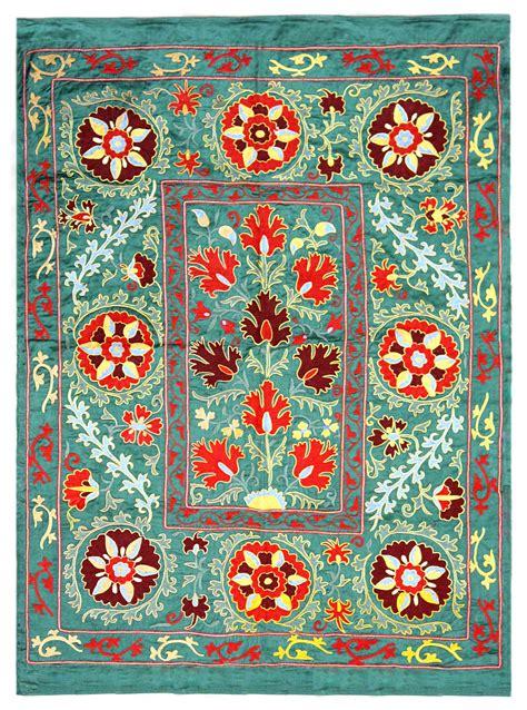 uzbek suzani embroidery suzani is the extraordinarily beautiful and intricate