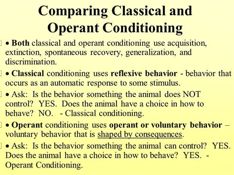 research papers classical and operant conditioning essay