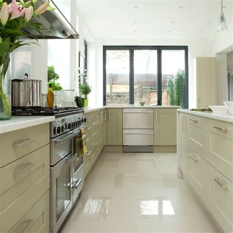 Light Green Kitchen Ideas Modern White Kitchen With Pendant Light Kitchen Decorating Housetohome Co Uk Mobile