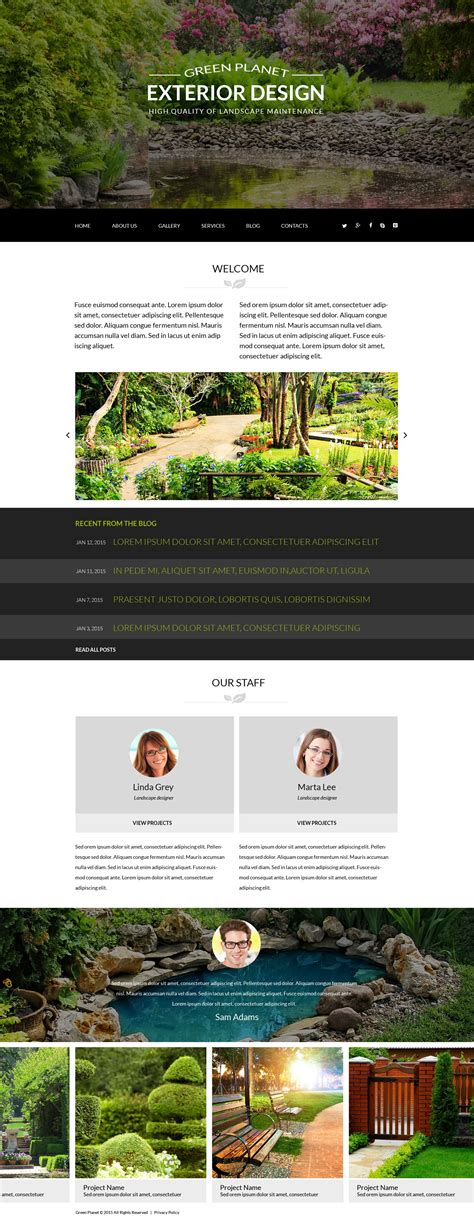 design joomla template exterior design joomla theme