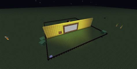 how to make a redstone l in minecraft lighting and