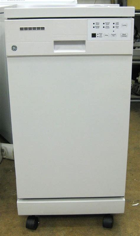 Portable Dishwasher In Apartment Ge 18 Inch Portable Dishwasher New Appliances Winnipeg