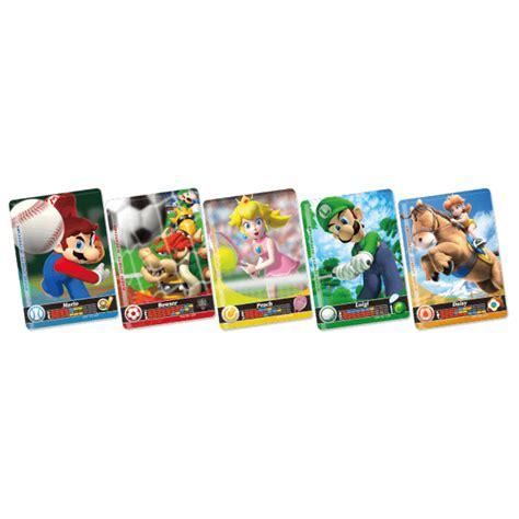 Nintendo Store Gift Card - mario sports superstars amiibo cards pack nintendo official uk store