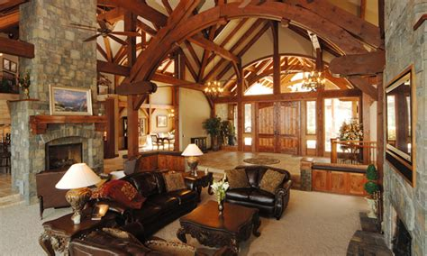 timber frame great room lighting hamill creek timber homes are in architectural
