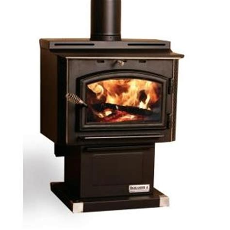 1400 sq ft highlander wood stove with blower and ash
