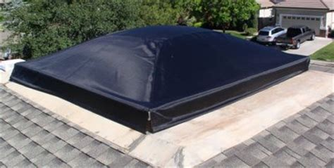 Sky Light Cover by Custom Skylight Shades Solar Panels Skylight Shade
