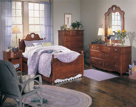 lea bedroom furniture lea antique treasures panel bedroom collection furniture