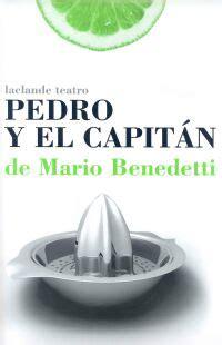 pedro y el capitn 8420601713 teatro pedro y el capit 225 n de benedetti