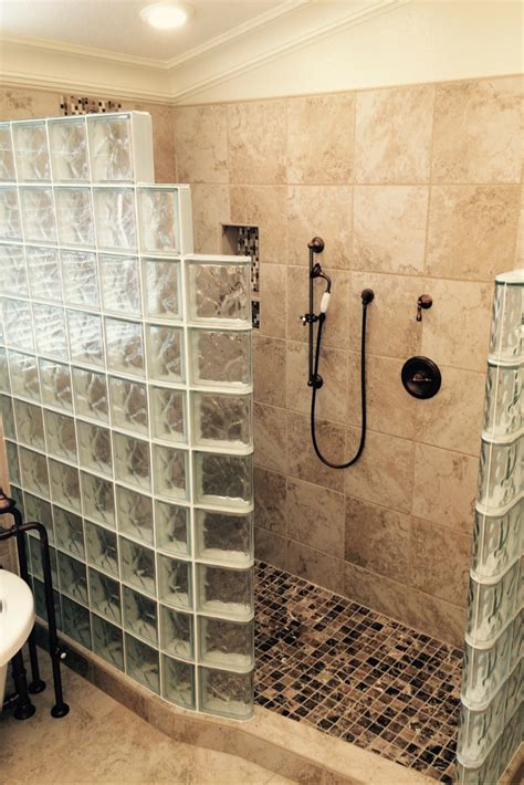 Shower Stall Ideas For A Small Bathroom by 7 Myths About Glass Block Showers