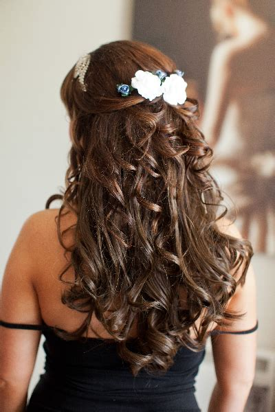 bridesmaid hairstyles curly show front and back view award winning wedding hair and makeup in essex wedding