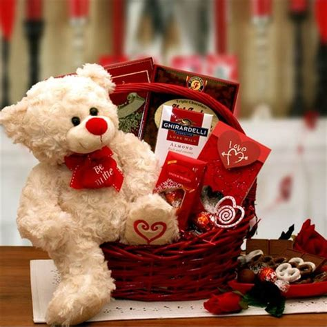 gift baskets for valentines say you ll be mine gift basket valentines