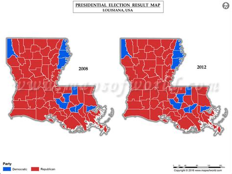 la live map louisiana election results 2016 map county results