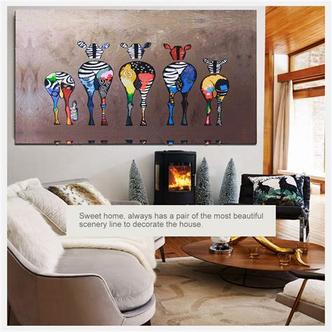 hd home decor hd unframed canvas print zebra home decor wall art poster