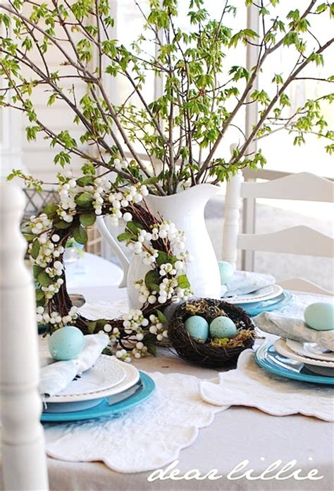 Top 17 Spring Flower Easter Table Centerpieces April Holiday Home Decor Idea Holicoffee | top 17 spring flower easter table centerpieces april