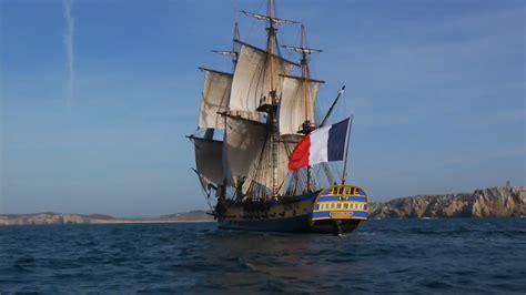 bateau hermione a port vendres port vendres l 233 crivain fabien clauw 224 l abordage de l