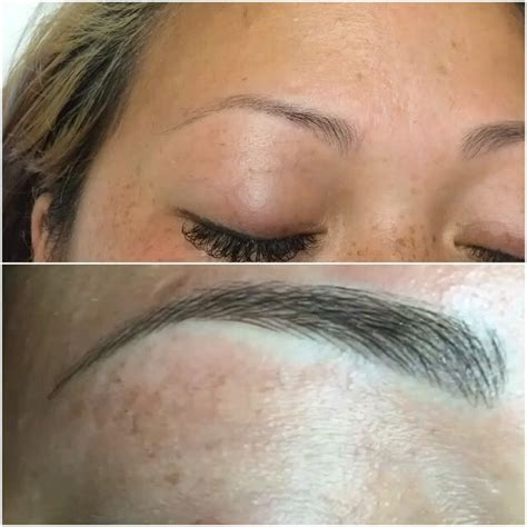 3d eyebrow tattoo nyc 3d hair stroke eyebrow 3d hair stroke semi