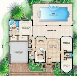 Florida House Plans With Pool by Florida House Plans Florida Style Home Floor Plans