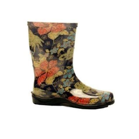 sloggers printed garden boots womens rainboots midsummer