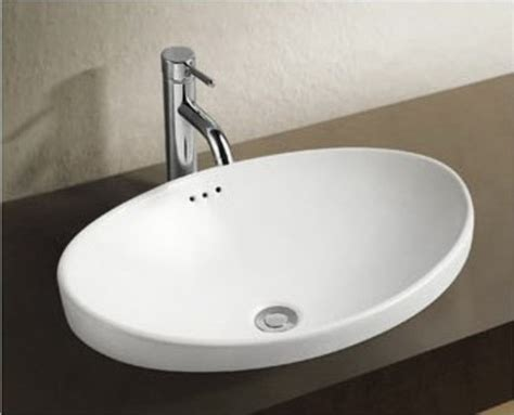 breno designer ceramic basin above counter basins