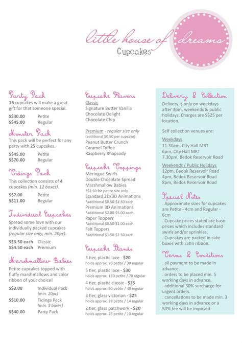 cake price list template 28 images cake for wedding