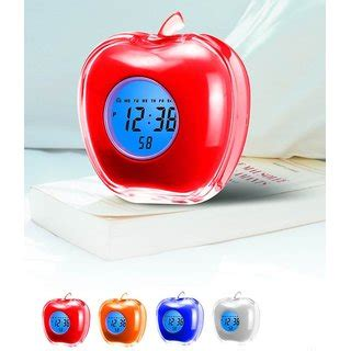 apple talking alarm clock buy apple talking alarm clock at best prices from shopclues