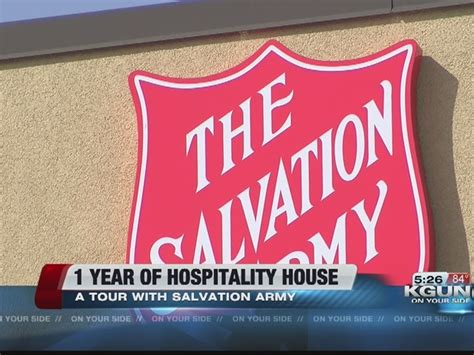 salvation army hospitality house tucson salvation army kicks of red kettle caign story