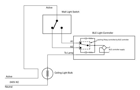 wiring diagram remote light switch wiring