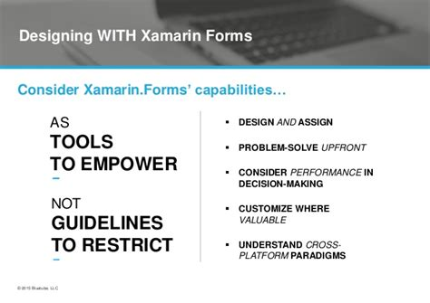xamarin design guidelines xamarin forms ux design by andrew cotten bluetube
