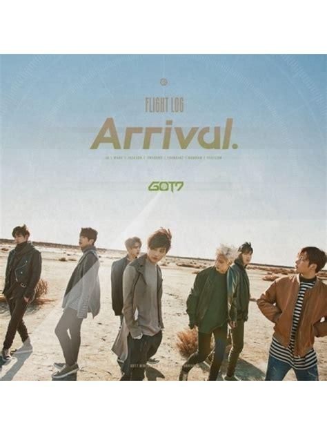 Got7 Arrival Album Logbook got7 flight log arrival