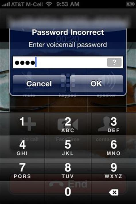 fix visual voicemail bug  iphone