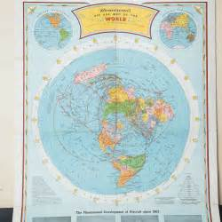World Flat Map by The Ultimate Flat Earth Map Collection Aplanetruth Info