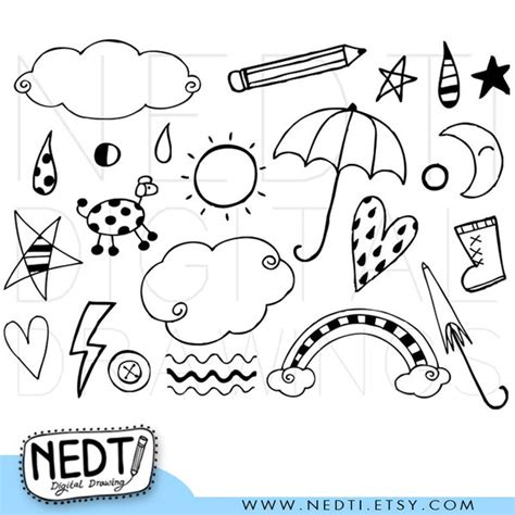 doodlebug graphics mix doodle clip by nedti on deviantart