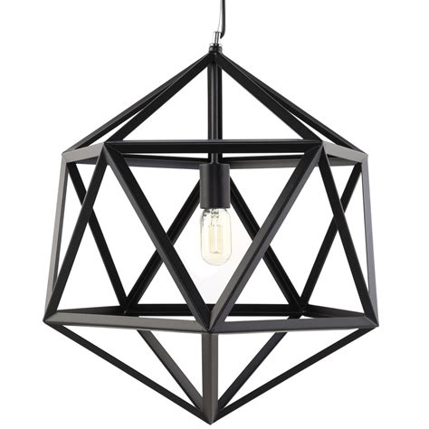 Black Metal Chandelier Black Metal Hexagon Black Metal Chandelier Modern Furniture Brickell Collection