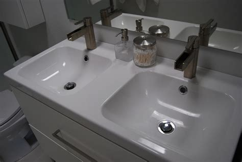 double bathroom sinks for small spaces bathroom double sink for small spaces by ikea for the
