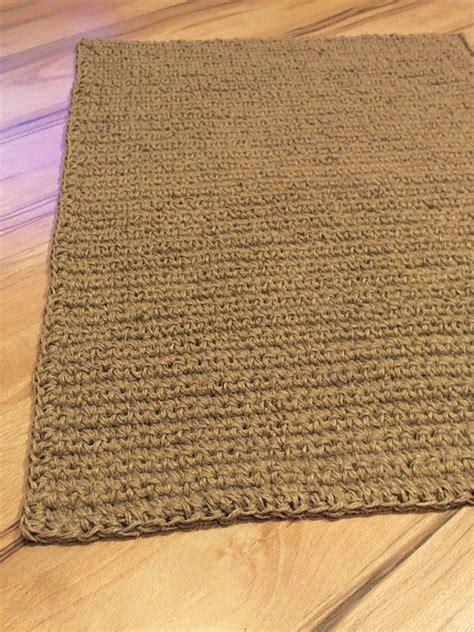 large doormat crochet jute door rug handmade 4 by