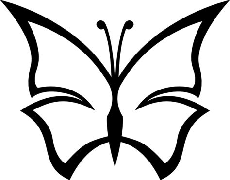 christian butterfly coloring pages abstract butterfly clip art at clker com vector clip art