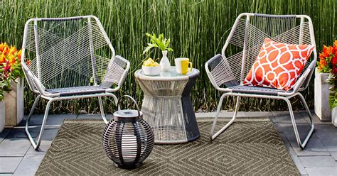 Rope Chair Target by Target 3 Sling Rope Patio Set Only 207 Shipped