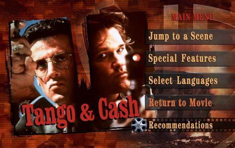 Color Palette For Website tango amp cash 1989 dvd movie menus